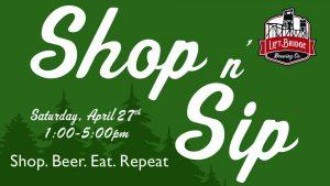 Shop n' Sip at Lift Bridge Brewery