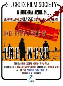 """WESTERN MONTH """"ONCE UPON A TIME IN THE WEST"""""""
