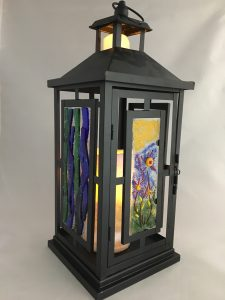 Make a Fused Glass Lantern