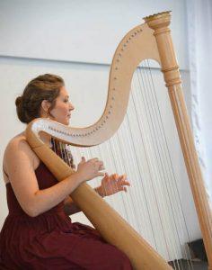 Coffee Concert: Hannah J. Scheele, Harp