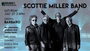 Music @ Franconia: Scottie Miller Band