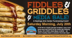 Fiddles & Griddles Pancake Breakfast & Media Sale-A Hastings Rivertown Days Event