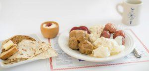 Swedish Meatballs & Lutfisk Dinner