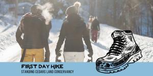 First Day Snowshoe/Winter Walk