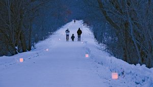 Candlelight Snowshoe and Dinner - Jan 18