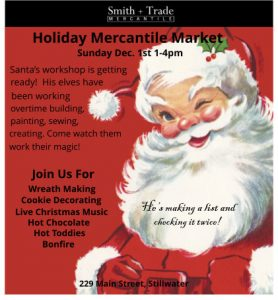 Holiday Mercantile Market ... Get Your Holiday On!