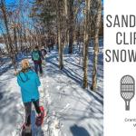 Sand Rock Cliffs Snowshoe