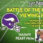 Battle of the NFC North Viewing Party at Lift Bridge Brewery