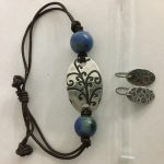 Jewelry class with Fine Silver Metal Clay Bracelet & earrings
