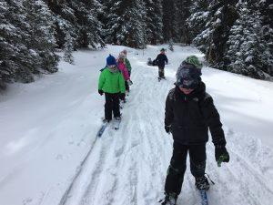 Guided Nordic Rocks Skis Program