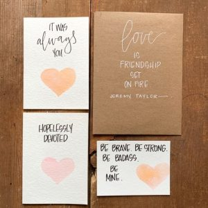 Artisan Valentine Card Making Class - Feb. 9th