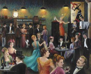 Paris in the 20's Dinner
