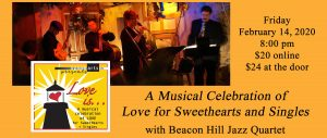 Love Is with the Beacon Hill Jazz Quartet