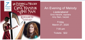 An Evening of Melody with Gina Hanzlik and Amy Nam