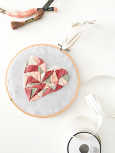 Not Your Grandma's Embroidery Class,Turn Your Modern Hand Embroidery into a Piece of Art.
