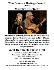 Mustard's Retreat (CANCELLED FOR MARCH 13)