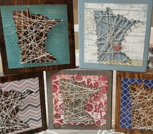 MINNESOTA STRING ART BLOCK + MINNESOTA CHALLENGE