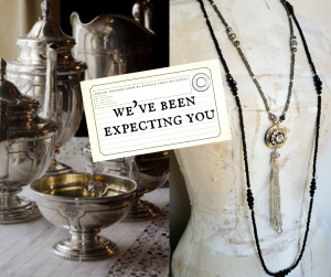 An Afternoon Inspired by Downton Abbey - Design a Necklace and More!