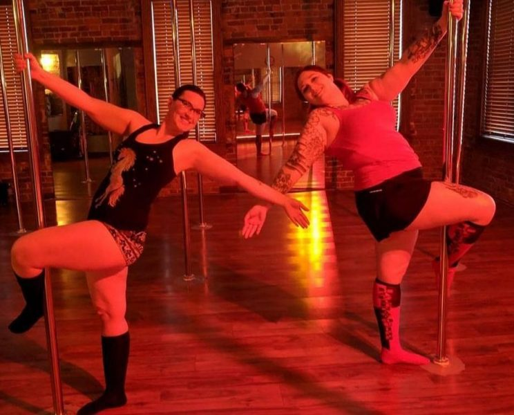 Intro to Pole Dance for Fitness 6 week course.