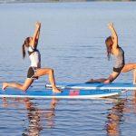 SUP Yoga at Square Lake