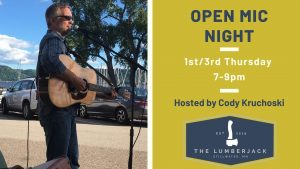Open Mic Night at The Lumberjack