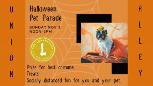 Halloween Pet Parade in Union Alley
