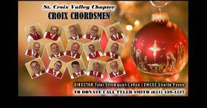 2020 Croix Chordsmen Chorus VIRTUAL Christmas Show