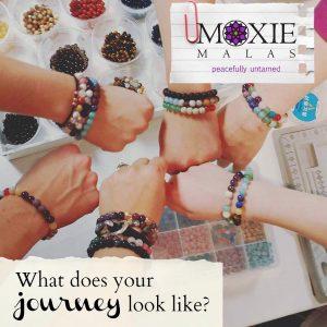 Making a Mala Bracelet with Intention