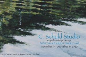 C. Schuld Studio 2020 Art Crawl