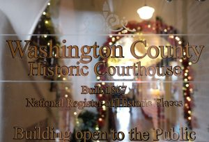 Wintertime at the Historic Courthouse