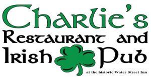 Valentine's 4-course dinner at  Charlie's Irish Pub