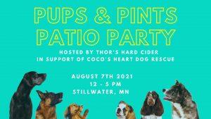 Pups & Pints Patio Party