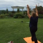 Yoga on the River Bluff